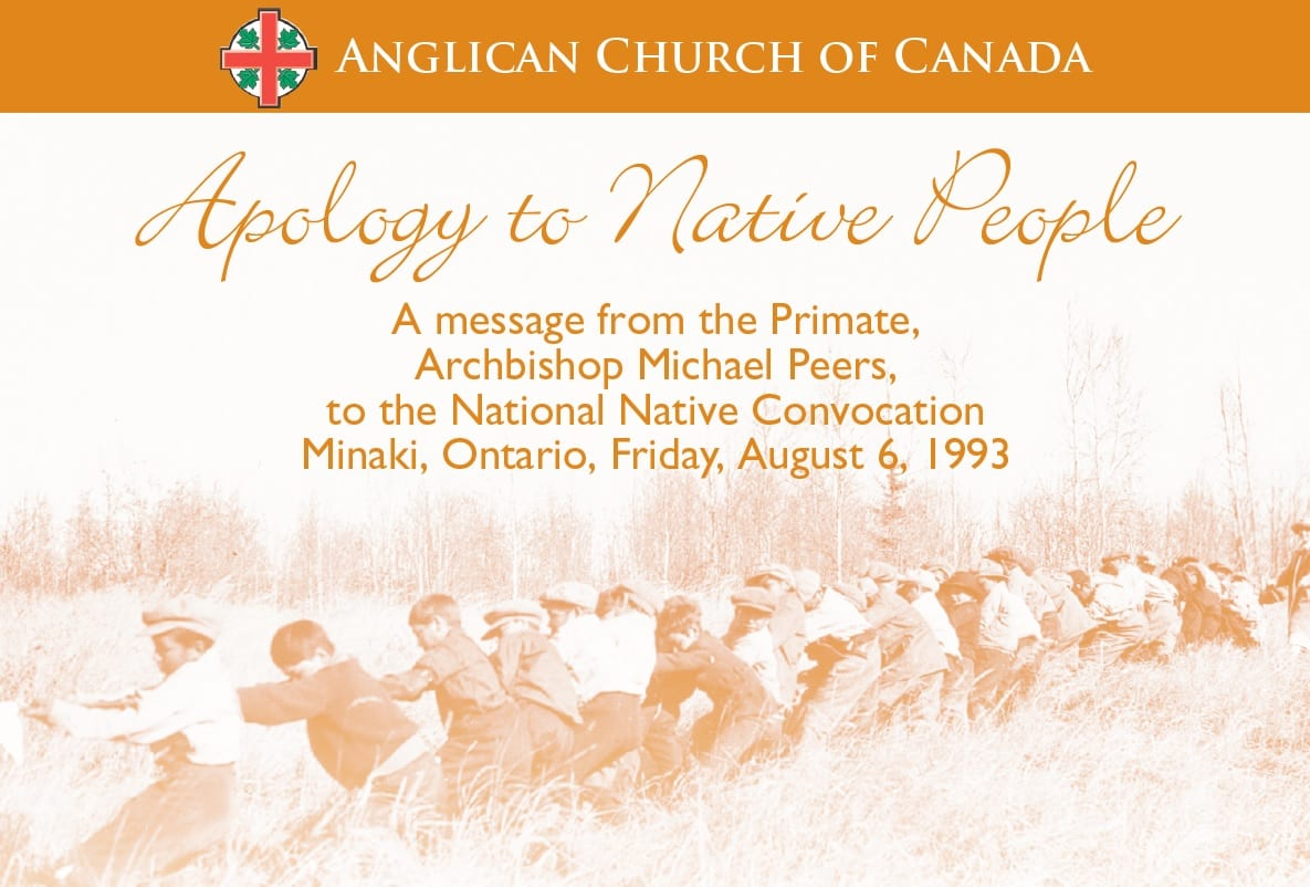 Apology To Native People